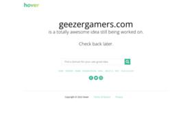 geezergamers.com