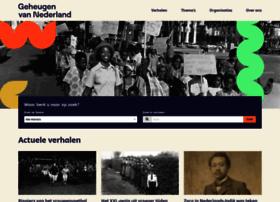 geheugenvannederland.nl
