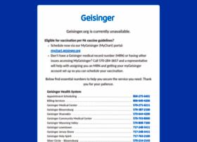 geisingerconnect.geisinger.org