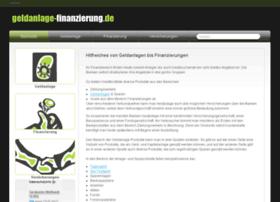 geldanlage-finanzierung.de