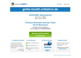 gelita-health-initiative.de