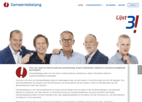 gemeentebelangkapelle.nl