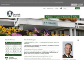 gemeinde-gruenwald.com