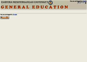 gemoodle.emu.edu.tr