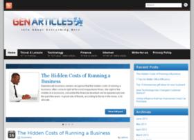 genarticles.com