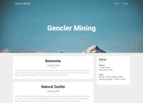 genclermining.com