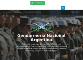 gendarmeria.gob.ar