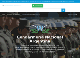 gendarmeria.gov.ar