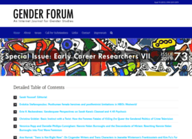 genderforum.org