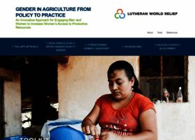 genderinagriculture.org