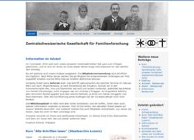 genealogie-zentral.ch