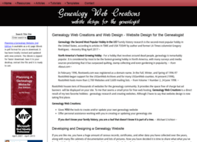genealogy-web-creations.com