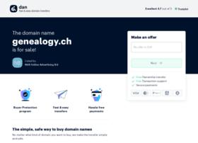 genealogy.ch