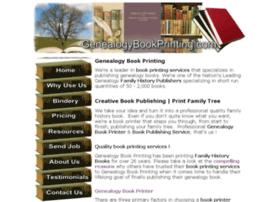 genealogybookprinting.com