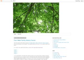 genealogyforyouth.blogspot.com