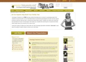 genealogyfreelancers.com