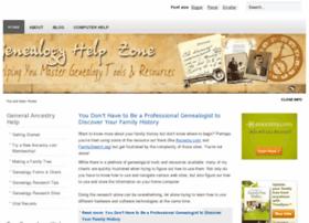 genealogyhelpzone.com