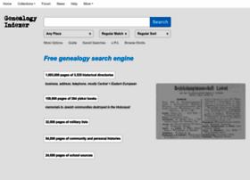 genealogyindexer.org