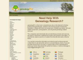 genealogypro.com