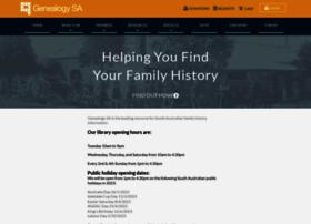 genealogysa.org.au