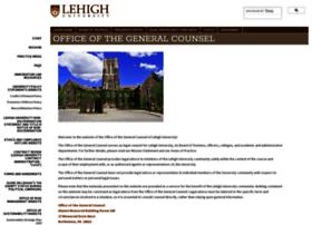 generalcounsel.lehigh.edu