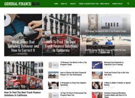 generalfinanceblog.com