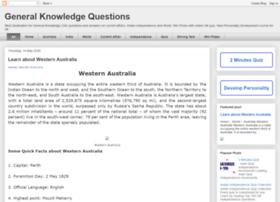 generalknowledgequestionss.blogspot.in