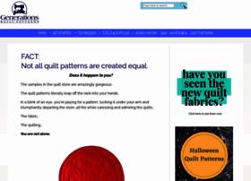 Generations-quilt-patterns.com