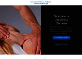 generationwellnessmassage.com