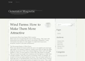 generatormagnetic.org