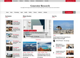 generatorresearch.com