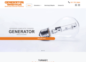 generatorwarehousecc.co.za
