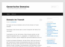generischedomains.de
