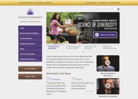 generosityresearch.nd.edu