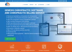 genesischiropracticsoftware.com
