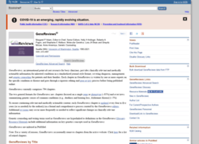 genetests.org