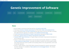 geneticimprovementofsoftware.com