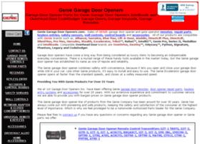 genie-garage-door-openers.com