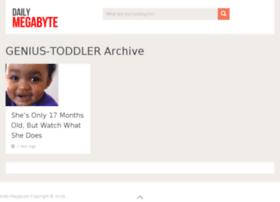 genius-toddler.dailymegabyte.com