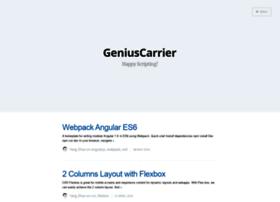 geniuscarrier.com