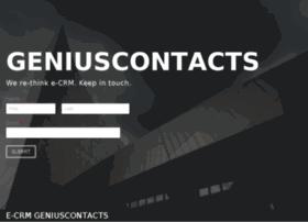 geniuscontacts.com