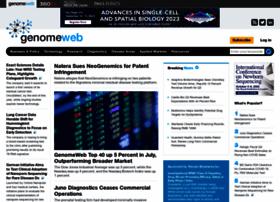 genomeweb.com