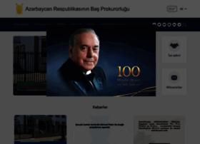 genprosecutor.gov.az