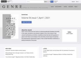genre.dukejournals.org