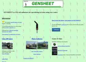 gensheet.co.uk
