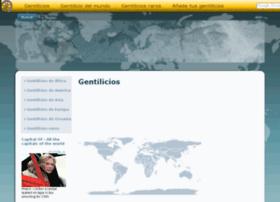 gentilicios.net