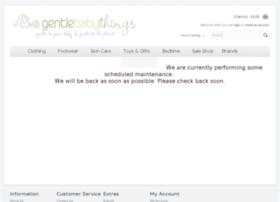 gentlebabythings.co.uk