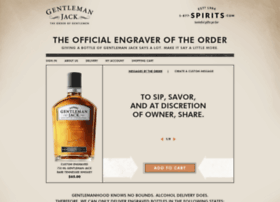 gentlemanjack.1-877-spirits.com
