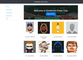 gentlemenpokerclub.com