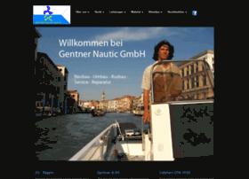 gentner-nautic.de